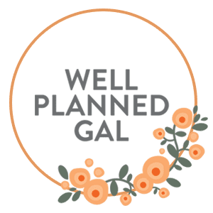 Well Planned Gal Logo